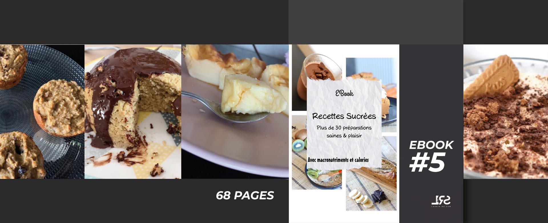 Recettes sucrées laurie Rs ebook